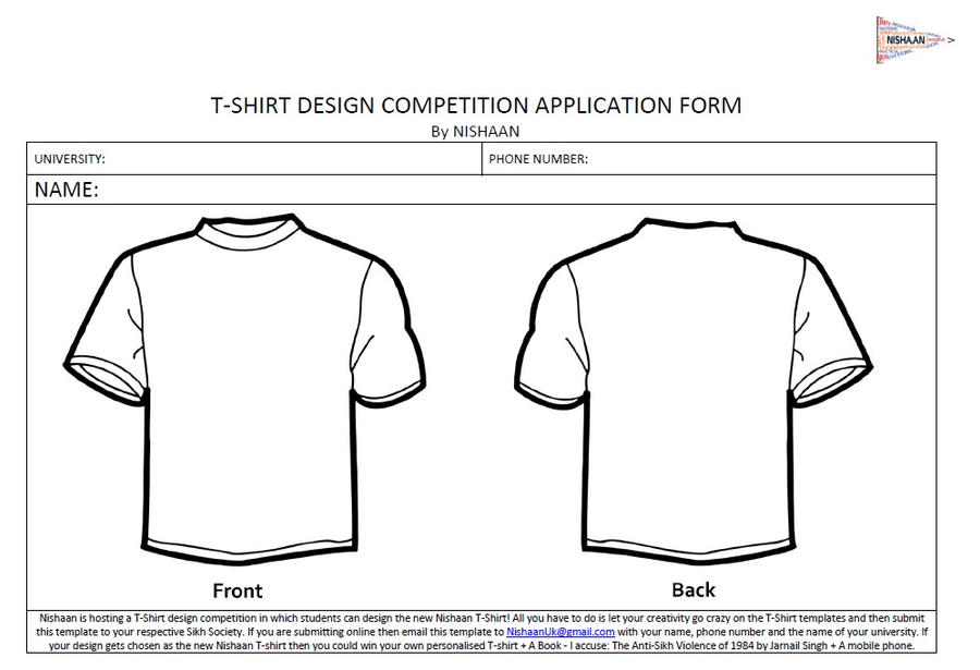 T-Shirt Design Competition form by ajmeet on DeviantArt