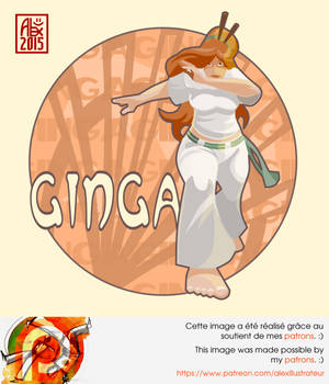 Capoeira illustration 893