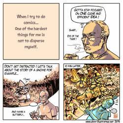 How to make comics #4 - Focus