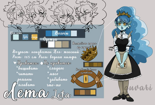 Leta (character sheet)