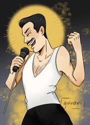 Freddie Mercury (from six fanarts)
