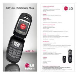 LG MG210D