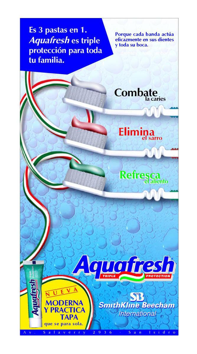 Aquafresh flyer