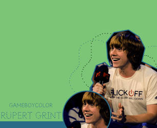Rupert Grint by gameboycolor