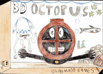 3D Octopus by Darkking55