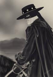 Zorro by VirtuaAngel
