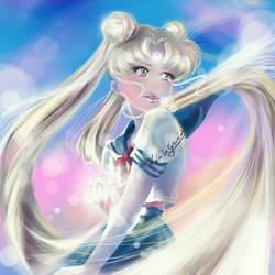 Usagi Tsukino Sailor Moon by VirtuaAngel