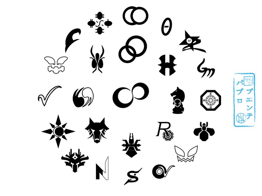 All Rider Symbols By Netro32 On Deviantart