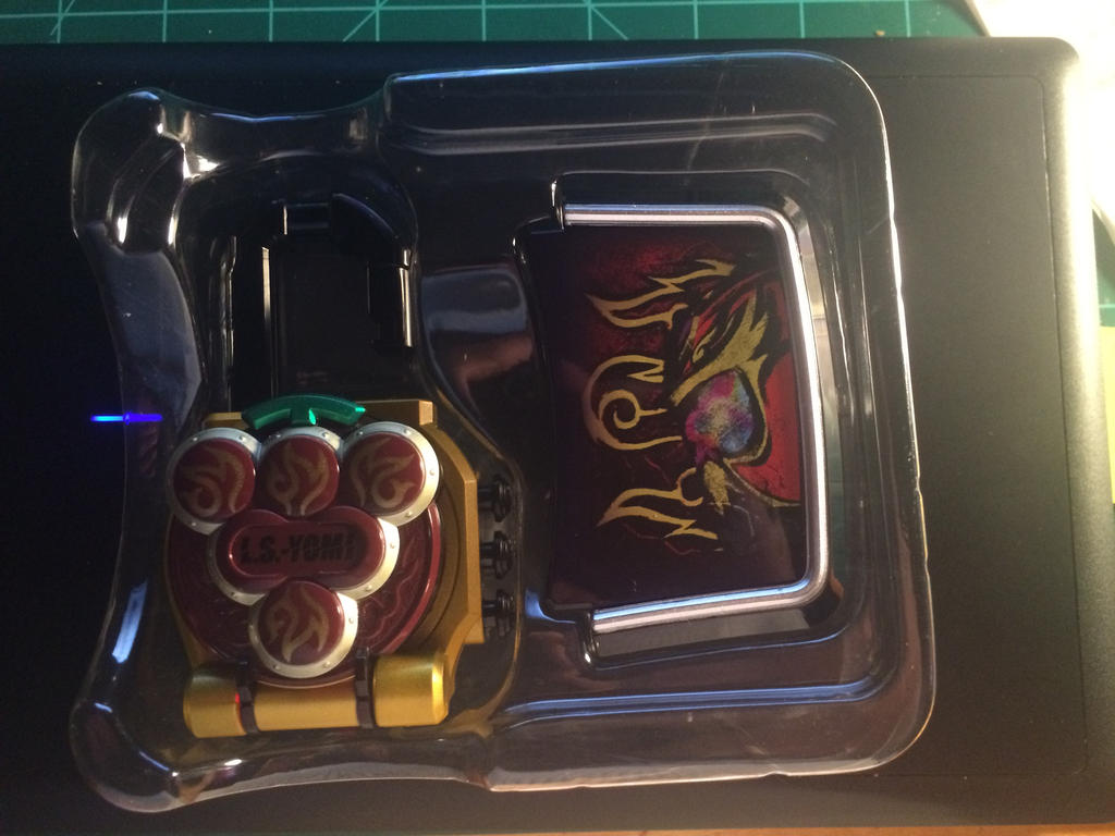 Yomi lockseed and Faceplate by netro32