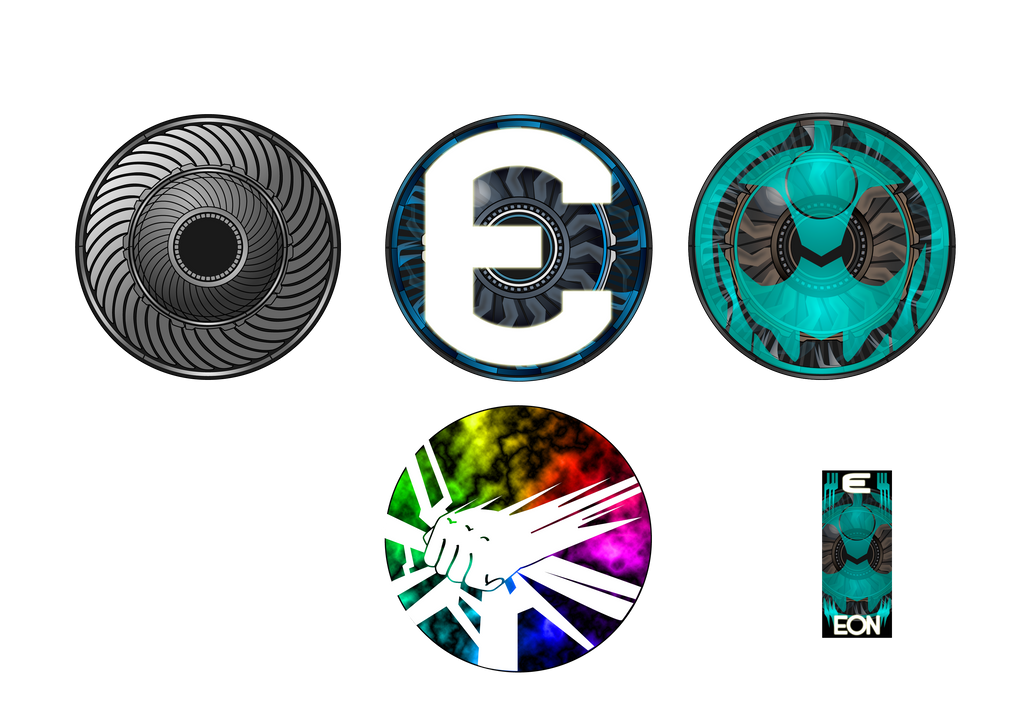 EON Eyecon Stickers by netro32
