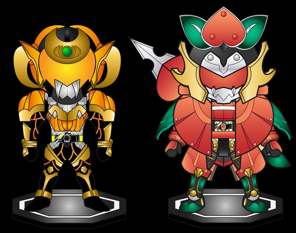 Genka Size Comparison by netro32