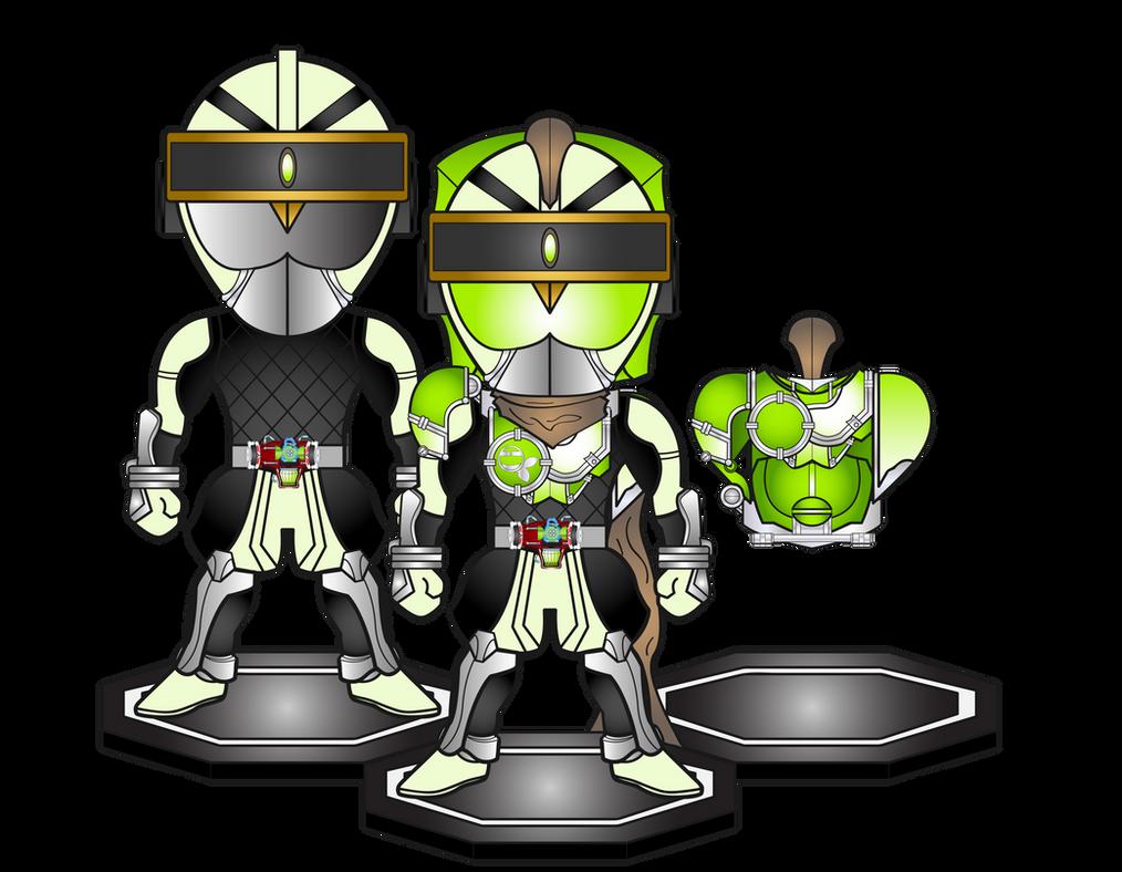 New Gen Rider Hanzo by netro32