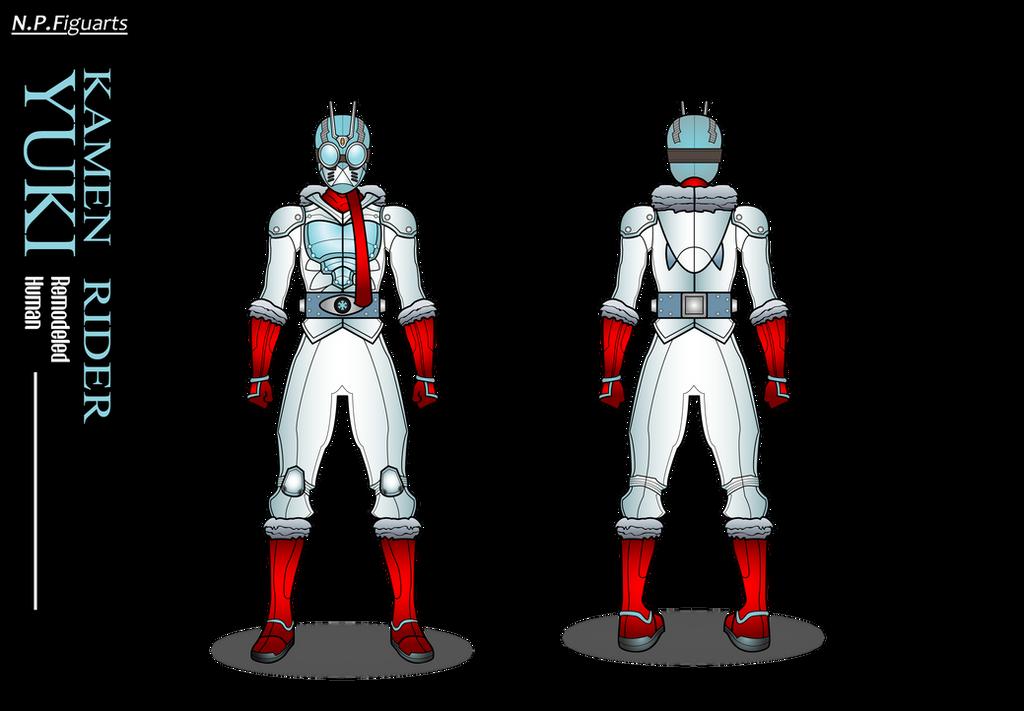 NP Figuarts Kamen Rider Yuki by netro32