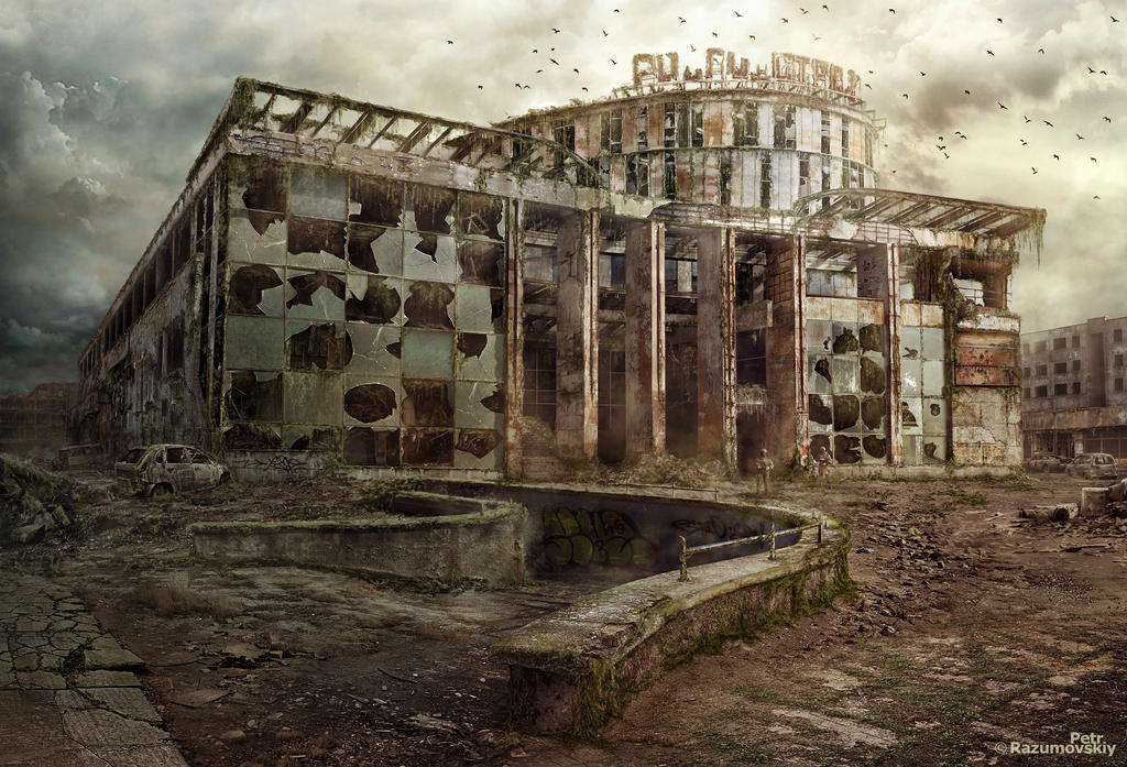 Matte Painting - Clover House