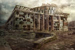 Matte Painting - Clover House by GraphPetr