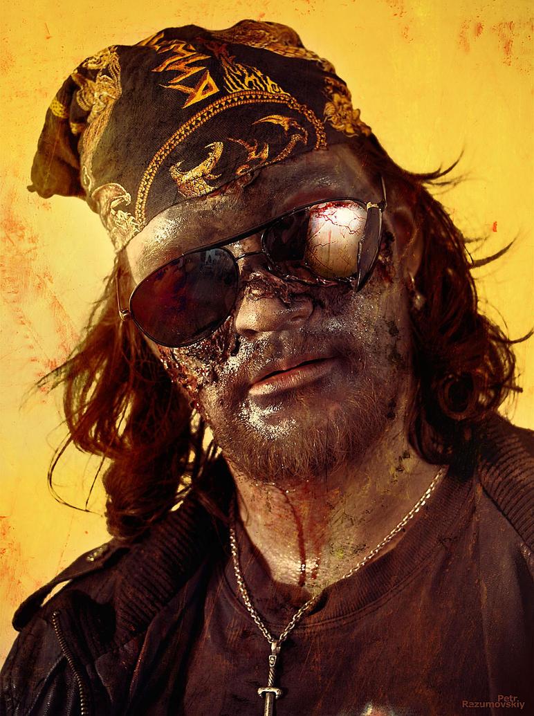 Zombie rocker by GraphPetr