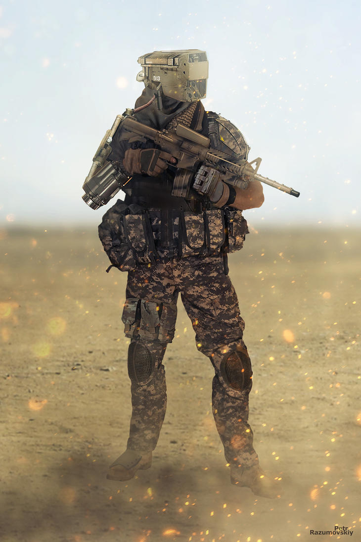 Soldier Photobash by GraphPetr