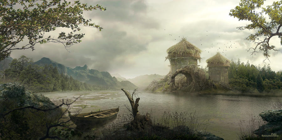 Marsh by GraphPetr