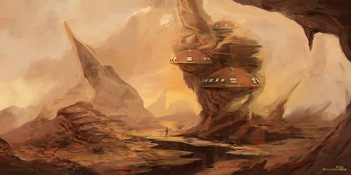 Mushroom city 1418 by GraphPetr