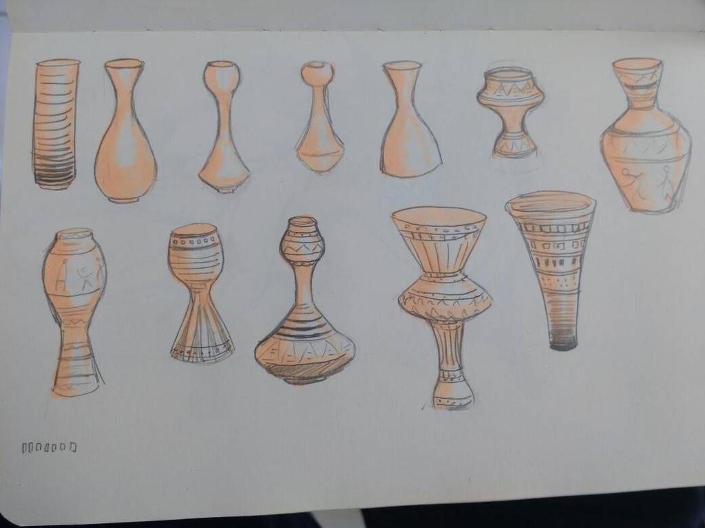 vase study by marie-sama