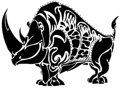 Rhino by SkimEast1982