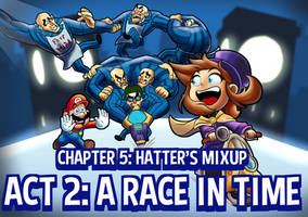 A hat in time, chapter 5 act 2: Mario kart?! by HarryManzinni