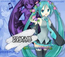 1OO POINTS GIVEAWAY! | WINNERS (Closed)