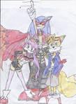 Sonic Gurren Lagann by StoryTeller288