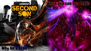 InFAMOUS Second Son - Why be a hero? by Valtekken