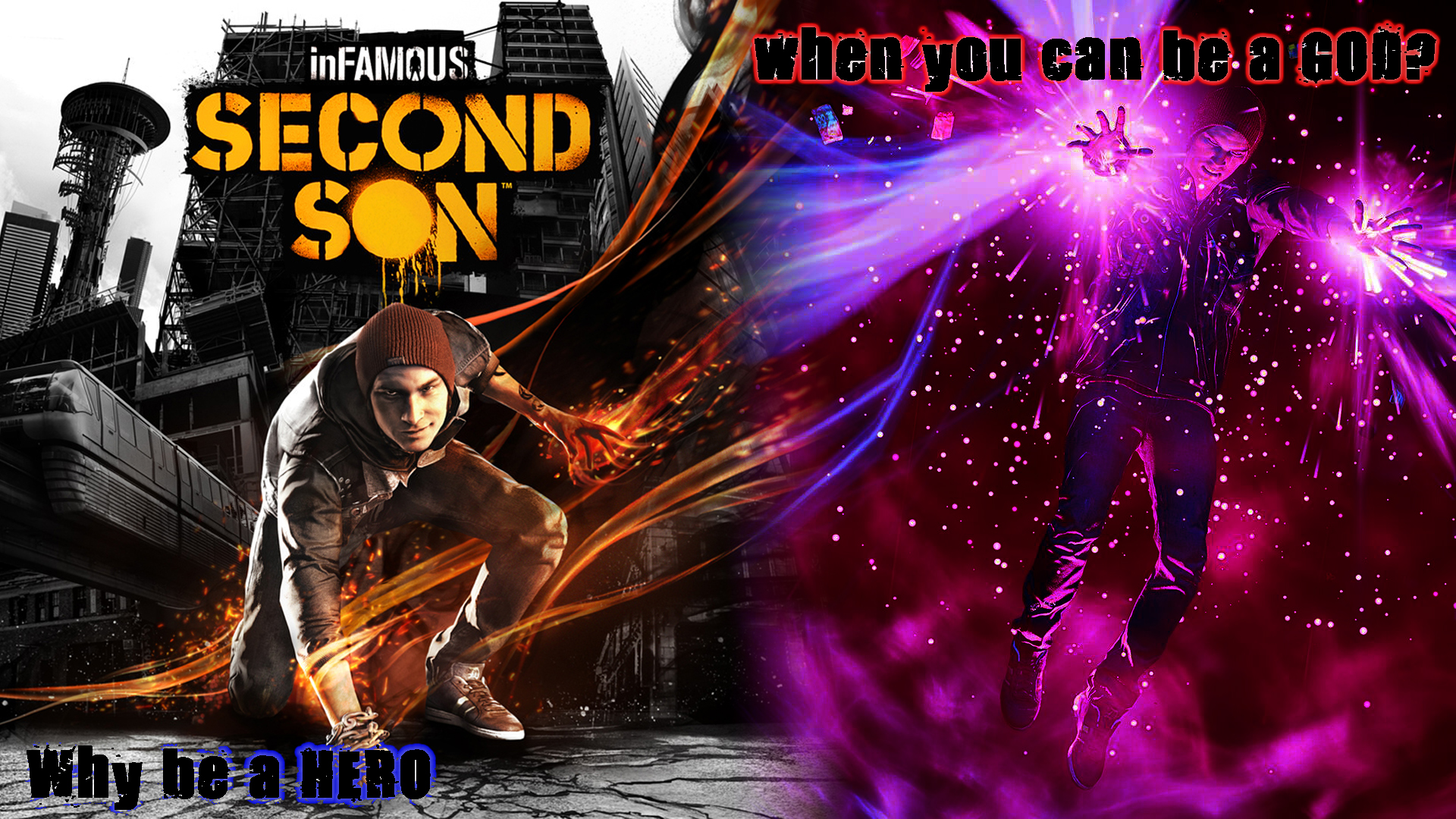 InFAMOUS Second Son - Why be a hero? by Valtekken on ...