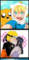 Adventure time - Naruto- Avatar
