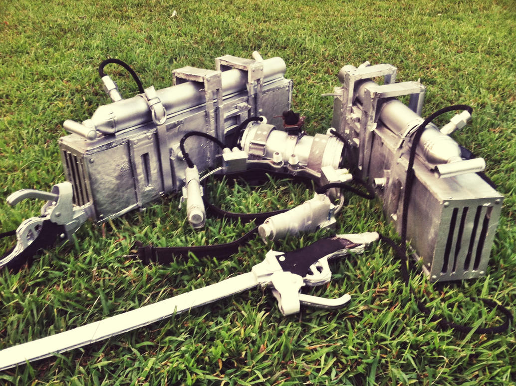 3D Maneuver Gear by legalrehab