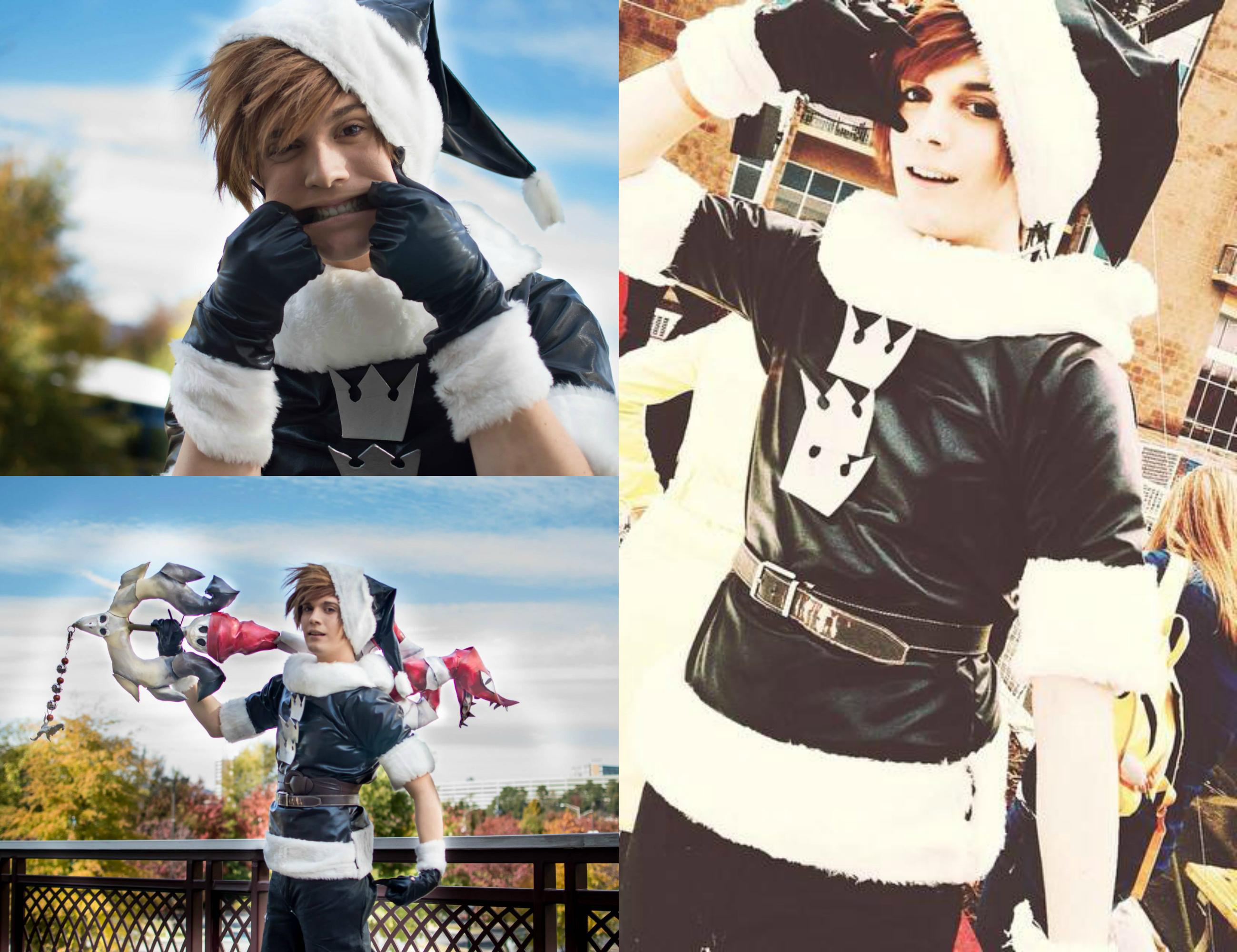 Sora Christmas Town Cosplay.Christmas Town Sora Kingdom Hearts Ii Cosplay By