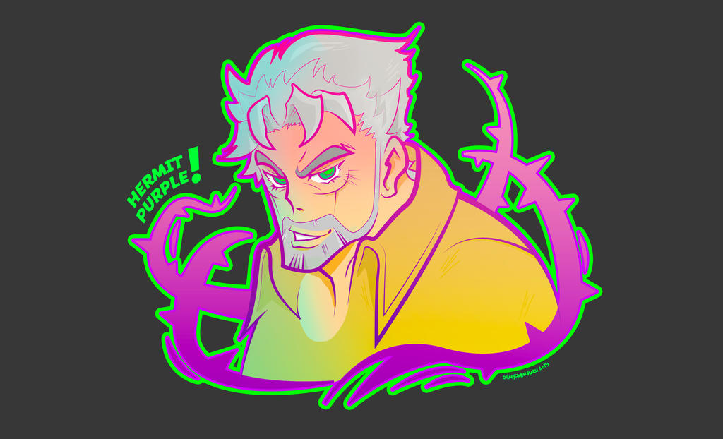 Hermit Purple? by crazyKisuke