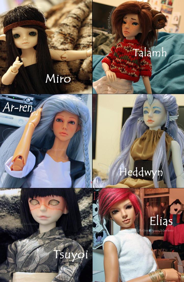 EA Doll Crew 11/15 by elvenarcher