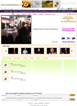Social Networking Web Template