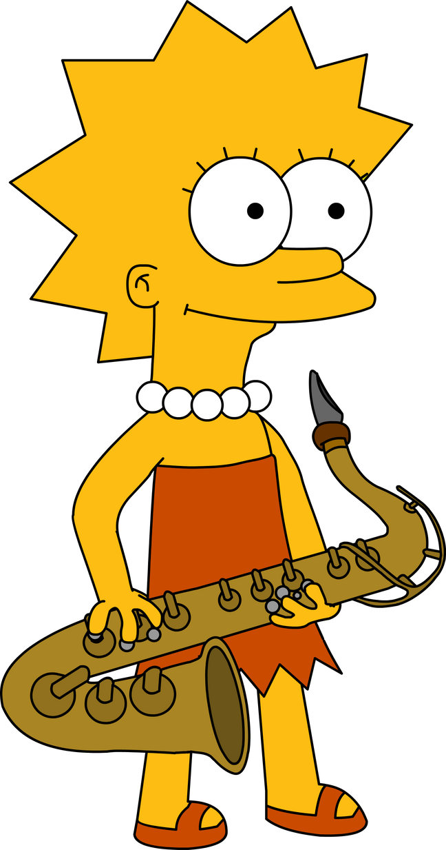 The 13 megapixel Lisa Simpson by RayFan9876