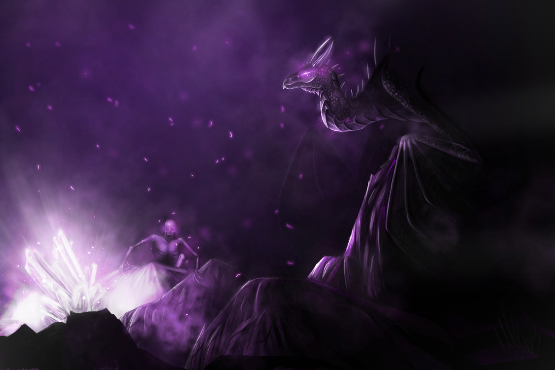 Ender Dragon By ScreamingMaggot911
