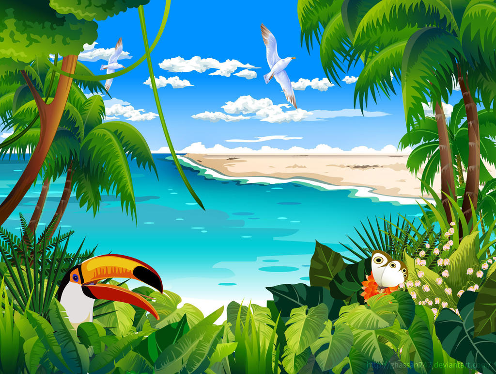 Tropical By Ghassan747 On DeviantArt