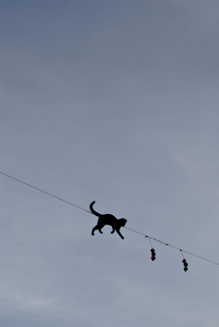 Walking in the air 2 by lonelinessandstuff