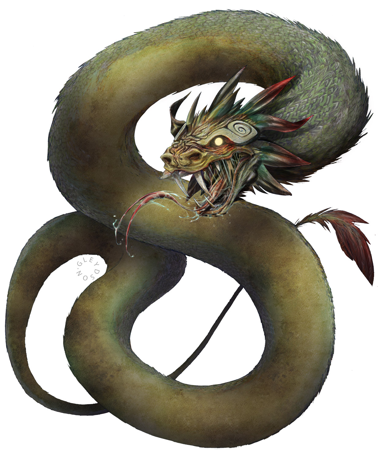 Coatl [Playable Feathered Snake Dragons w/ ghost powers ...