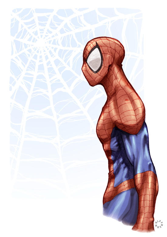 spiderman by gureiduson