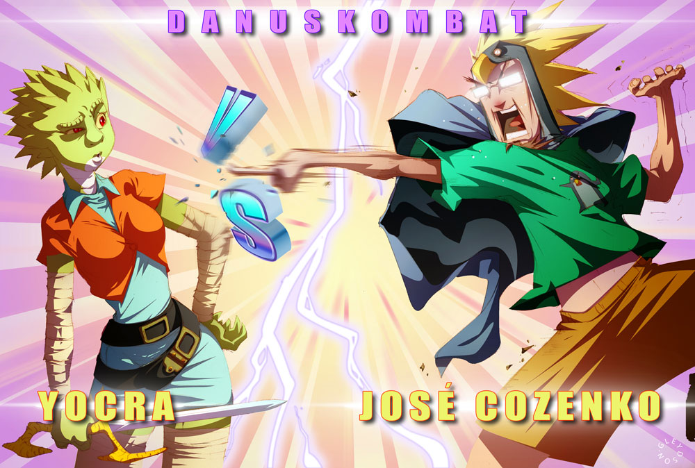 Yocra vs Jose Cozenko by gureiduson