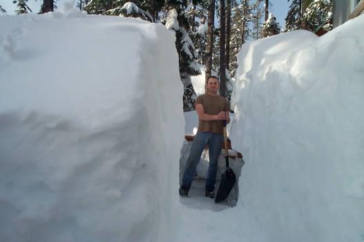 Life in a ski resort.