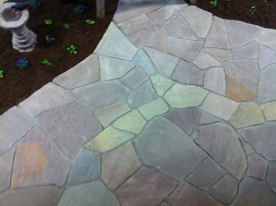 Dry Laid Flagstone Patio By Devine Escapes On Deviantart