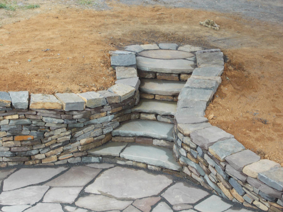 how to build a patio wall