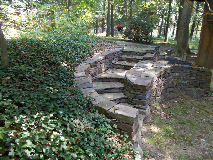 Natural Building Stone Steps : Dry stone steps by devine escapes on deviantart