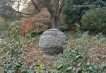 Garden Orb, Brookside Gardens dry stone sphere by Devine-Escapes