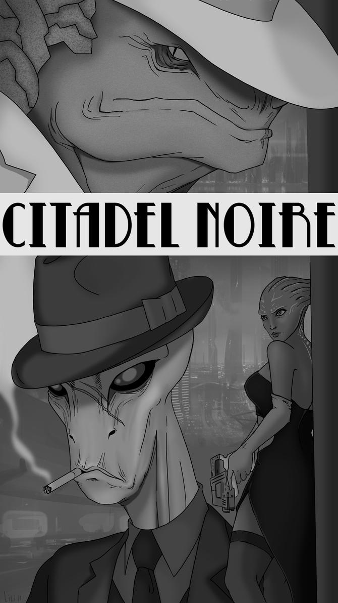 Citadel Noire Deux by Jack-Stark