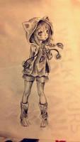 Cute anime by xLeFeu
